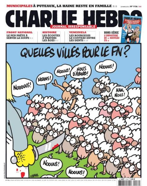 Charlie Hebdo 26 March 2014